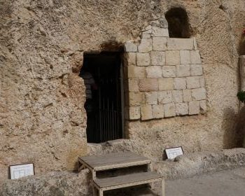 The tomb of Jesus Christ - Christ's Burial Site in Jerusalem