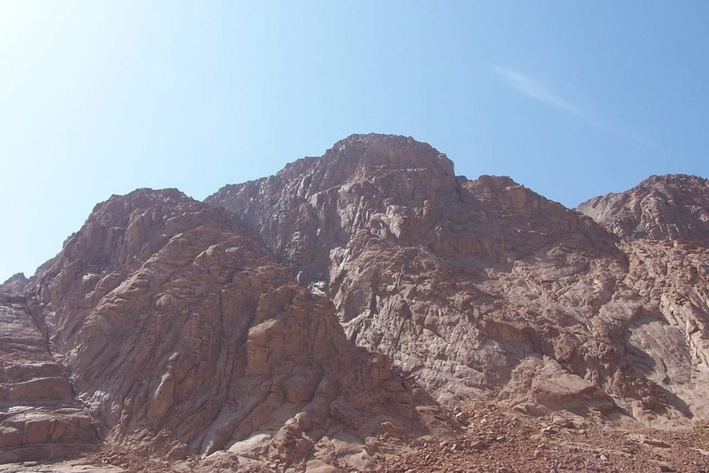 mount sinai - Ten Commandments